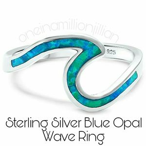 Jewelry - Sterling Silver Ocean Wave Ring